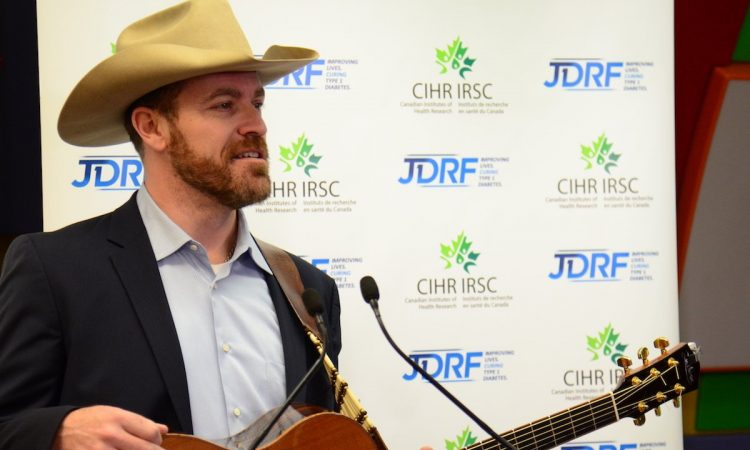 CIHR JDRF Announcement George Canyon